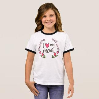 Amo mi camisa del campanero del día de madre de la