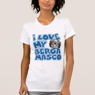 Amo mi camiseta de Bergamasco