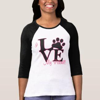 Amo mi camiseta de Pitbull