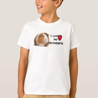 Amo mi camiseta del conejillo de Indias