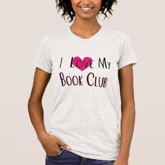 Amo mi camiseta del corazón del círculo de