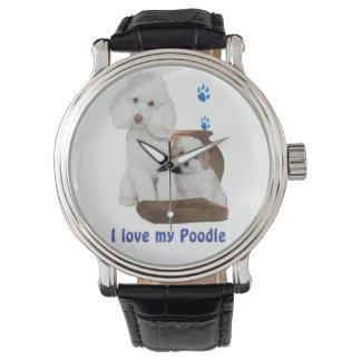 Amo mi caniche reloj