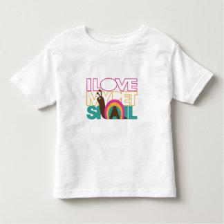 Amo mi caracol del mascota camisetas