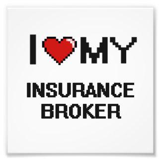 Amo mi corredor de seguros fotografía
