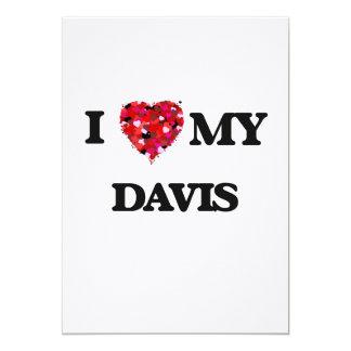 Amo MI Davis Invitación 12,7 X 17,8 Cm