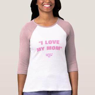 """""""Amo mi""""/""""de la mamá parte movible ambos de usted Camiseta"""