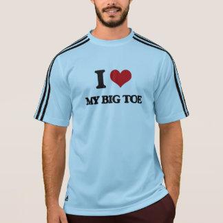 Amo mi dedo gordo camisetas