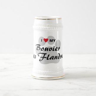 Amo mi DES Flandres de Bouvier Jarra De Cerveza