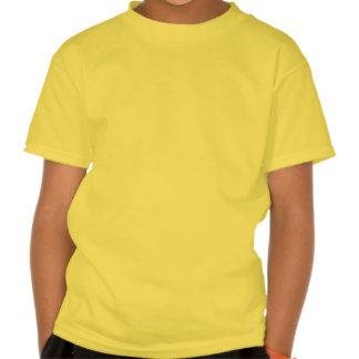 Amo mi dogo de EngAm el perro masculino Camisetas