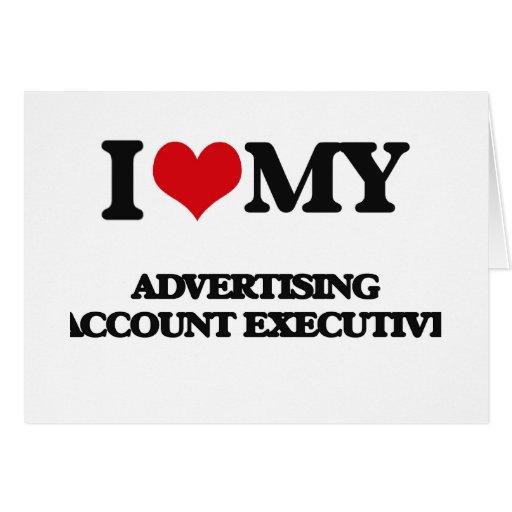 Amo mi ejecutivo de cuenta de publicidad tarjeton