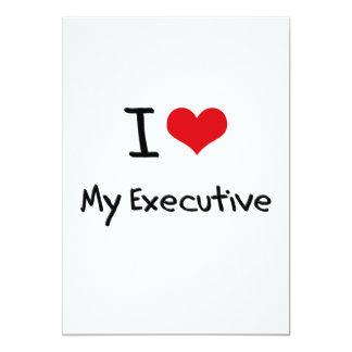 Amo mi ejecutivo invitacion personalizada