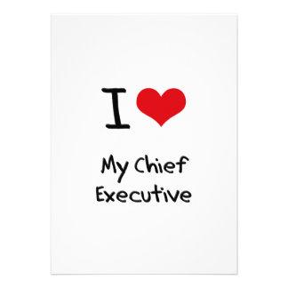 Amo mi ejecutivo anuncio personalizado