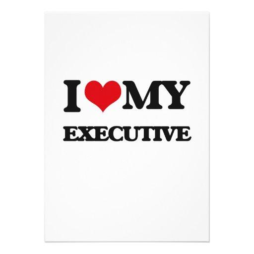 Amo mi ejecutivo comunicado personalizado