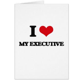 Amo mi ejecutivo felicitacion
