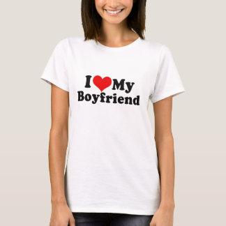 Amo mi el día de San Valentín del novio Camiseta