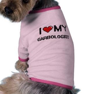 Amo mi Garbologist Ropa De Mascota