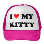 Amo mi gatito gorras de camionero