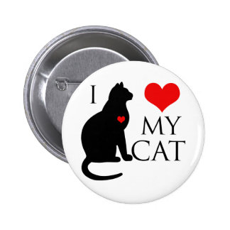 Amo mi gato pin