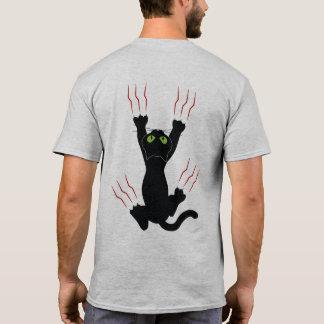 Amo mi gato, impresión bilateral camiseta