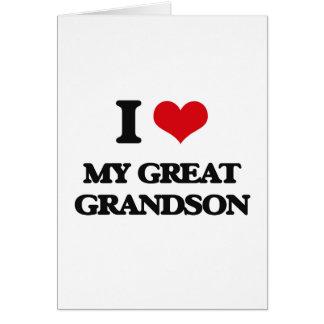 Amo mi grande - nieto felicitaciones