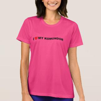 amo mi komondor camiseta