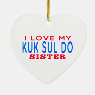 Amo mi Kuk Sul hago a la hermana Adornos De Navidad