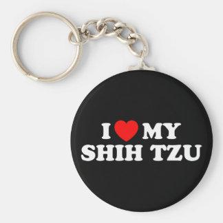 Amo mi llavero de Shih Tzu