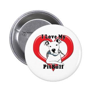 Amo mi logotipo de PitBull Pin