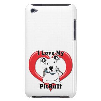 Amo mi logotipo de PitBull iPod Touch Case-Mate Cárcasa