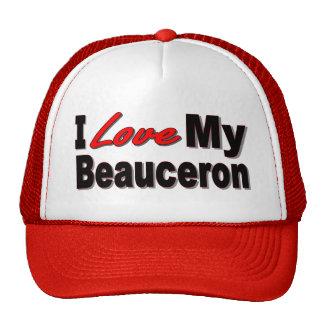 Amo mi mercancía de Beauceron Gorros Bordados