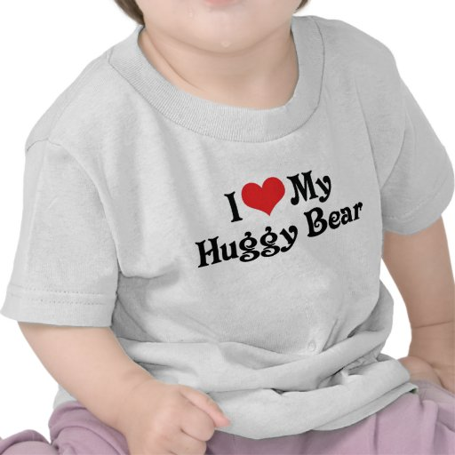 Amo mi oso de Huggy Camiseta