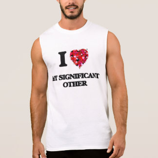 Amo mi otro significativo camisetas sin mangas