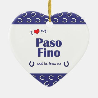 Amo mi Paso Fino el caballo masculino Ornamentos De Reyes