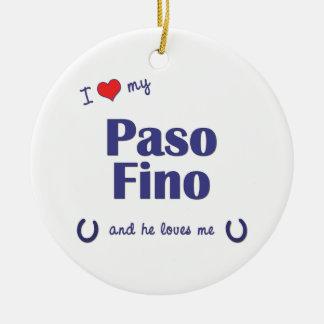 Amo mi Paso Fino (el caballo masculino) Ornamentos De Reyes