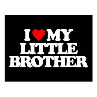 AMO MI PEQUEÑO BROTHER POSTAL