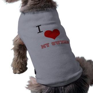 Amo mi perro del dueño proveído de costillas las c