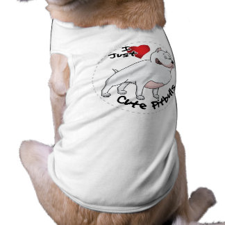 Amo mi perro divertido y lindo adorable feliz de camiseta sin mangas para perro
