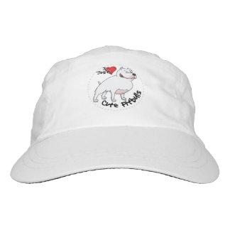 Amo mi perro divertido y lindo adorable feliz de gorra de alto rendimiento
