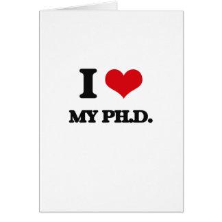 Amo mi Ph.D.