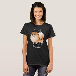 Amo mi Pomeranian Camiseta