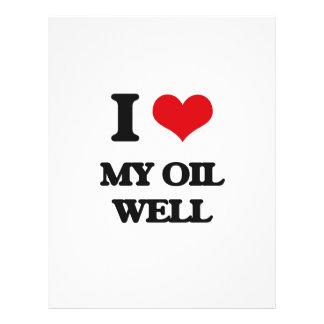 Amo mi pozo de petróleo tarjetón