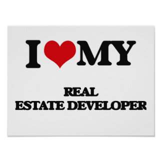 Amo mi promotor inmobiliario impresiones