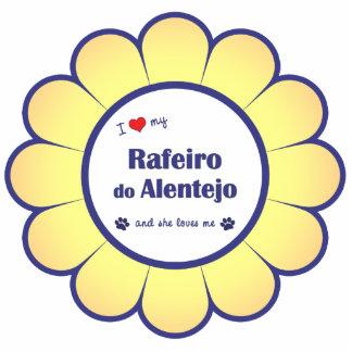 Amo mi Rafeiro hago Alentejo (el perro femenino) Escultura Fotográfica