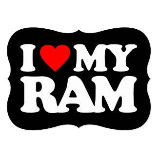 AMO MI RAM INVITACION PERSONALIZADA