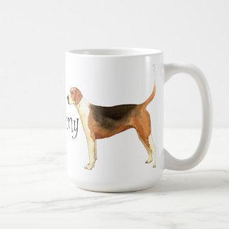 Amo mi raposero americano taza de café