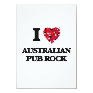 Amo mi ROCA AUSTRALIANA de la publicación Invitación 12,7 X 17,8 Cm