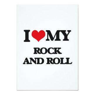 Amo mi ROCK-AND-ROLL Comunicado Personalizado