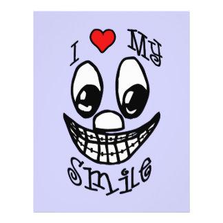 Amo mi sonrisa folleto 21,6 x 28 cm