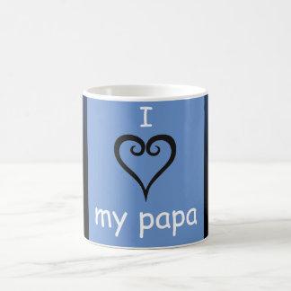 Amo mi taza de la papá