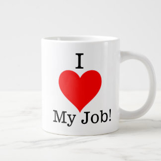 Amo mi taza del trabajo
